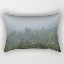 Guatemalan Forest Rectangular Pillow
