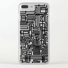 Tree Of Line Clear iPhone Case