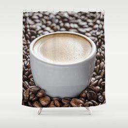 Espresso Shower Curtain