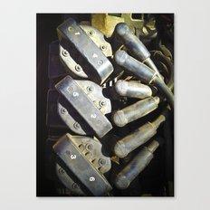 1,4,5,2,3,6  Ignition, Blastoff! Canvas Print