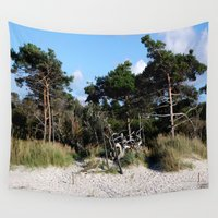 german Wall Tapestries featuring German coast by anru