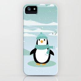 AFE Winter Penguin iPhone Case