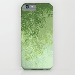 Willow (Green) iPhone Case
