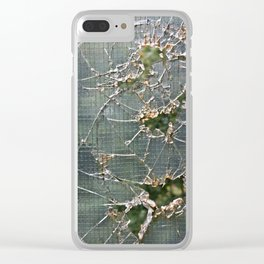 Broken Clear iPhone Case