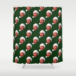 Fixed the Newel Post! Shower Curtain