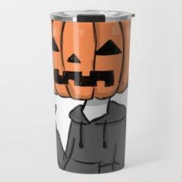 Cool Pumpkin Travel Mug