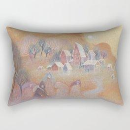 Daydream Town Rectangular Pillow