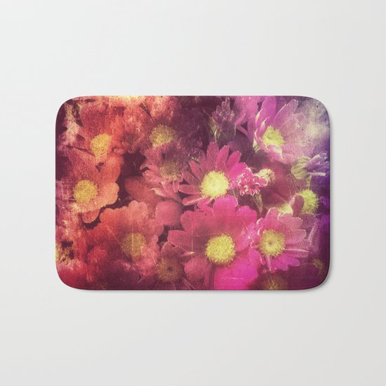 Flowers for someone Bath Mat