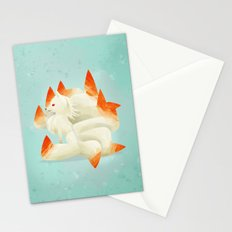 038 Ninetales Stationery Cards