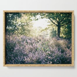 morning heather Serving Tray