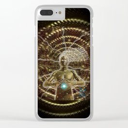 Birthing Of A New Soul Clear iPhone Case