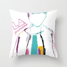 LA PRINCESS Throw Pillow