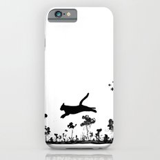 The Cat and Ink drop bombs iPhone 6s Slim Case