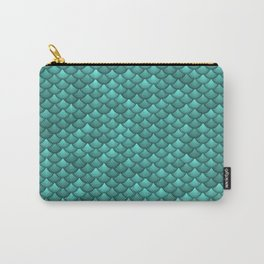 teal scales Carry-All Pouch