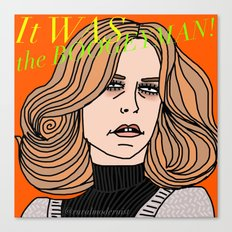 Female Trouble Series: Laurie Strode from Halloween Canvas Print