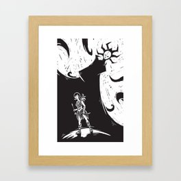 Ashi and The High Priestess Framed Art Print