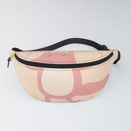 Fox Jumps the Rope Fanny Pack