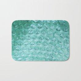 Aqua Bubble Wrap Bath Mat