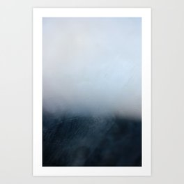 Foggy Horizon Art Print