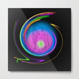 Atrium Abstract - Perfection Akt 23 Metal Print