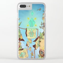 The Crystal Commeth Clear iPhone Case