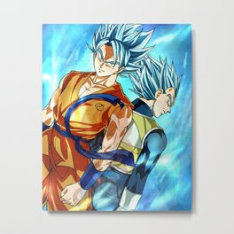 Dragon ball super Metal Print