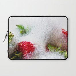 Strawberries in Focus Laptop Sleeve