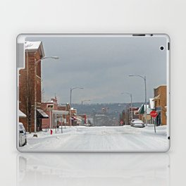 Snow in a Small City Laptop & iPad Skin