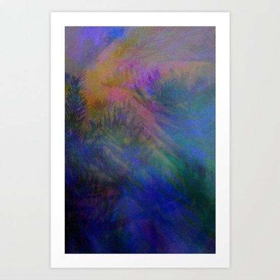 Magical Mystery Lights Art Print