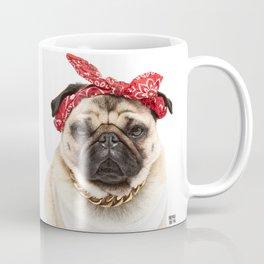 Gansta Pug Coffee Mug