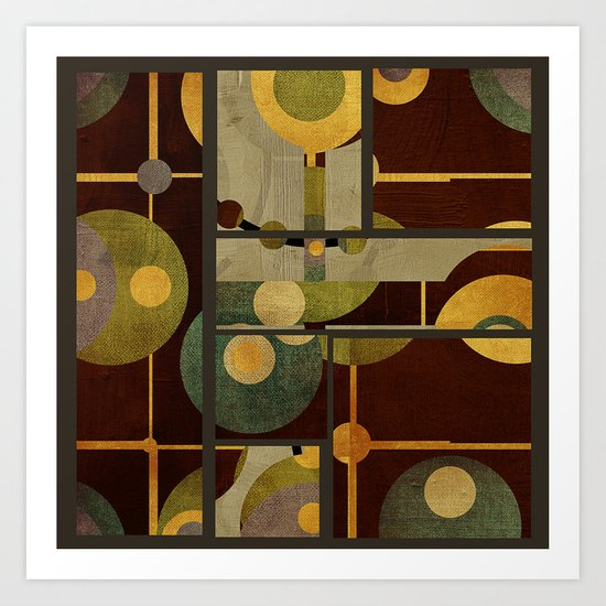 Textures/Abstract 99 Art Print