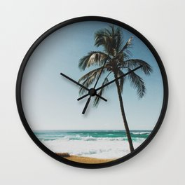 By the Beach  Wall Clock