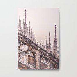 Milan Cathedral Metal Print