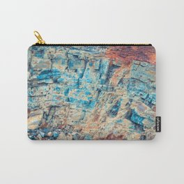 Layered Rustic Rock Carry-All Pouch