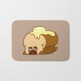 Pug Bread and Mr. Butter Bath Mat