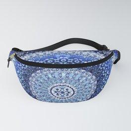 Cobalt Tapestry Mandala Fanny Pack