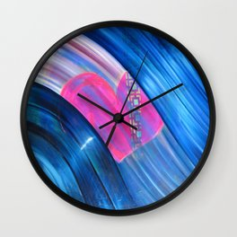 Love From Way Above Wall Clock