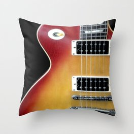 Les Paul Throw Pillow