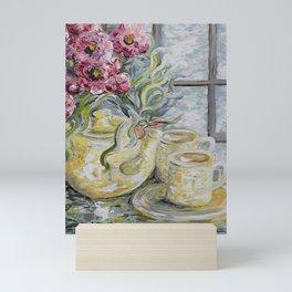 Morning Tea for Two Mini Art Print