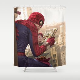 One on One (clean version) Shower Curtain