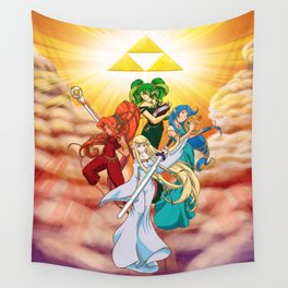 Four Goddess of Hyrule Wall Tapestry