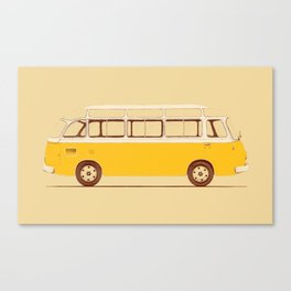 Yellow Van II Canvas Print