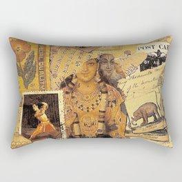 Indian Glories Rectangular Pillow