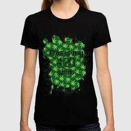 420 Shirt T-shirt