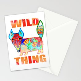 Wild thing - fox Stationery Cards