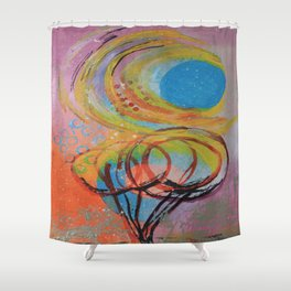 A Sunny Day Shower Curtain