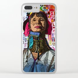 Kayan #illustration #typography #drawing Clear iPhone Case