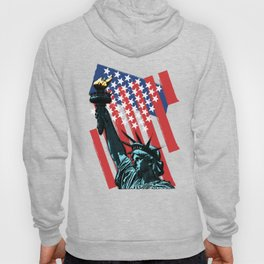 Stars, stripes and Liberty Hoody