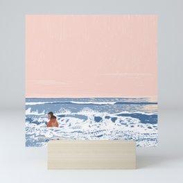 Stormy Sea Mini Art Print