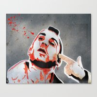 taxi driver Canvas Prints featuring Taxi Driver by Mike